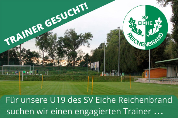 Trainer oder Spielertrainer für U19 gesucht!